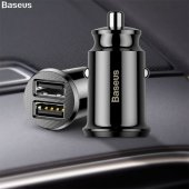 Baseus Mini Dual Usb 3.1a Max Çıkışlı Hızlı...