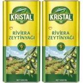 Kristal Zeytinyağı Riviera 5LT TNK 2li Set