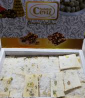 Antep Fıstıklı SÜTLÜ Yaprak Cezerye 1000 gr (Mersin Posta Pazarı)