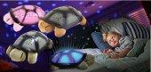 Kaplumbağa Gece Lambası 4 Renk Melodili Işıklı Gece Lambası-3