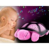 Kaplumbağa Gece Lambası 4 Renk Melodili Işıklı Gece Lambası-6