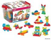 Mono Blocks 112 Parça Eğitici Puzzle Oyuncak Pazıl...