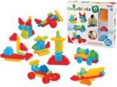 Kaktüs Mono Bloklar 55 Parça Taraklı Lego Oyun Set...