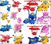 Harika Kanatlar 4 Lü Robot Seti Jet Dizzy Donnie J...