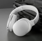 Baseus D02 Kablosuz Bluetooth 5.0 Kulaklık Renk Beyaz