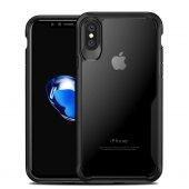 ıphone 7+, 8+ Koruyucu Kılıf, Siyah & Şeffaf