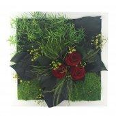 Terramoss Solmayan Yosun Tablo Miracle Roses