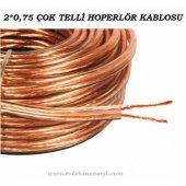 2x0,75 Şefaf Hoperlör Kablosu (1.sınıf 1.kalite Kablo) (10 Metre Kargo Bedava)