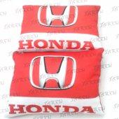 Honda Kırmızı Beyaz Oto Araç Boyun Yastığı