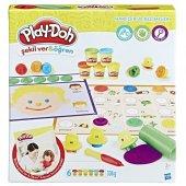 Play Doh Şekil Ver & Öğren Harfler Ve Kelimeler