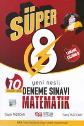 Süper 8. Sınıf Matematik Yeni Nesil Deneme...