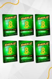Enerji 8. Sınıf Tüm Dersler 8+8 Deneme Seti Palme Kitabevi