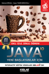 Yeni Başlayanlar İçin Java 10 Kodlab Yayın...