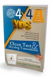 Yds 4x4 Cloze Test & Diyalog Tamamlama Pelikan...