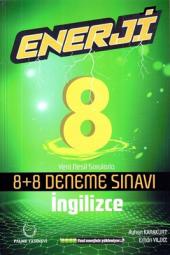8. Sınıf İngilizce Enerji 8+8 Deneme Sınavı...