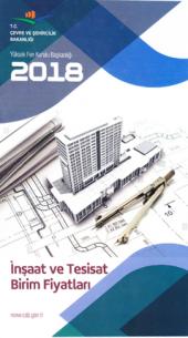 2018 İnşaat ve Tesisat Birim Fiyatları T.C Çevre ve Şehircilik Bk