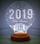 3d Led Lamba 3 Boyutlu Yeni Yıl Hediyesi 2019...