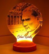 3d Led Lamba 3 Boyutlu Atatürk Anıtkabir Kişiye...