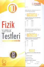 10. Sınıf Fizik Yaprak Testleri Palme Kitabevi