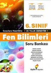 6.sınıf Fen Bilimleri Soru Bankası Aydın...