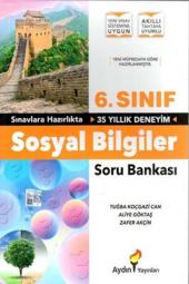6. Sınıf Sosyal Bilgiler Soru Bankası Aydın...