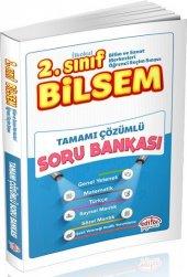 2.sınıf Bilsem Tamamı Çözümlü Soru Bankası...