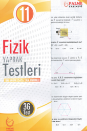 11.sınıf Fizik Yaprak Testleri Palme Kitabevi