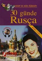 30 Günde Rusça (Kitap + 2 Cd) Fono Yayınları