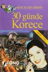30 Günde Korece (Kitap + 3 Cd) Fono Yayınları