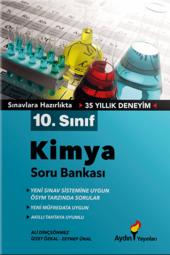 10. Sınıf Kimya Soru Bankası Aydın Yayınları...