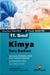 11. Sınıf Kimya Soru Bankası Aydın Yayınları...