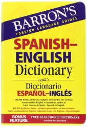 Spanish English Dictionary Barrons Educational...