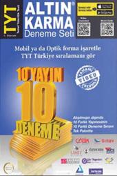 Tyt Deneme Seti 10 Farklı Yayın 10 Farklı...