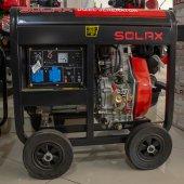 Solax Sdj 8500 Me Monofaze Dizel Jeneratör 7.5 Kva 13 Hp