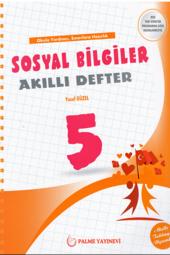 5. Sınıf Sosyal Bilgiler Akıllı Defter Palme Yayınevi