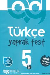 5. Sınıf Türkçe Yaprak Testleri Nitelik...