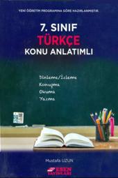 7. Sınıf Türkçe Konu Anlatımlı Esen Yayınları...