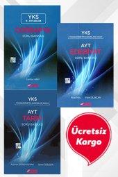 YKS AYT Coğrafya - Edebiyat - Tarih Soru Bankası Set Esen