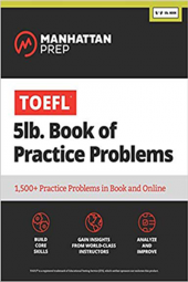 TOEFL 5lb Book of Practice Problems