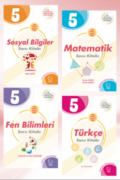 5. Sınıf Tüm Dersler Soru Bankası Set Palme Kitabe...