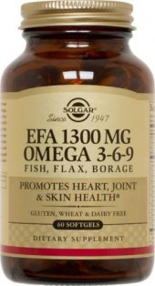 Solgar Omega 3 6 9 Efa 1300 Mg 60 Kapsül