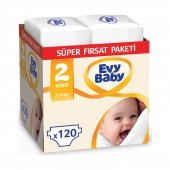 Evy Baby Bebek Bezi 2 Beden Mini Süper Fırsat...