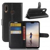 For Samsung Galaxy J6 Plus Kılıf Standlı Kart Gözlü Cüzdan Kılıf -2