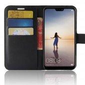 For Samsung Galaxy J6 Plus Kılıf Standlı Kart Gözlü Cüzdan Kılıf -3