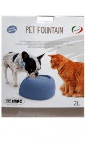 ımac Pet Fountain Kedi Köpek Otomatik Su Kabı 2...