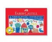 Faber Castell Parmak Boyası 25ml 6 Renk
