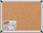 Akyazı 45x60 Alüm.çerçeve Duvara Monte Mantar Pano (0142)