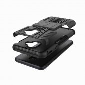 Galaxy A6 2018 Kılıf Zore Hibrit Silikon Kapak + Cam Ekran Koruyu-12