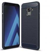 Galaxy A8 2018 Kılıf Zore Room Silikon Kapak + Cam Ekran Koruyucu