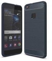 Huawei P10 Lite Kılıf Zore Room Silikon Kapak + Cam Ekran Koruyuc